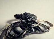 Silex ring & Tribus Luna rings, 2016